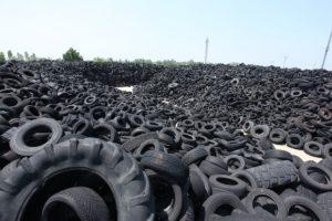 Nella Terra dei Fuochi sono stati rimossi 1,7 milioni pneumatici abbandonati