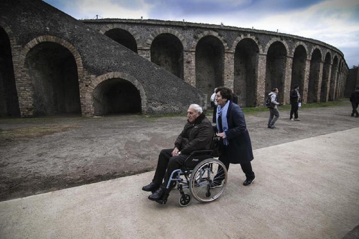 Pompei disabili