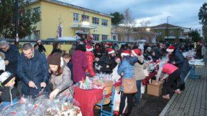 street christmas market