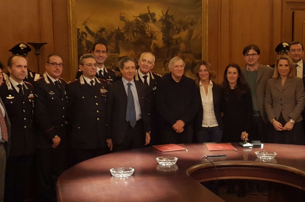 Lotta alla criminalità: firmato il protocollo d'intesa tra l'Arma dei Carabinieri e Libera