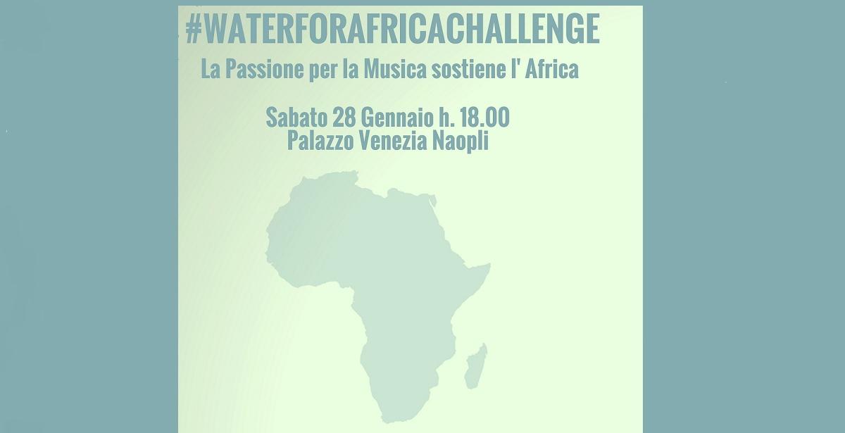 #WaterForAfricaChallenge