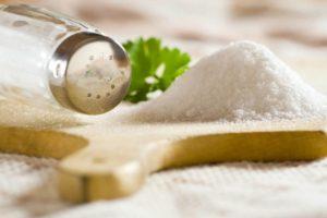 Diminuire del 10% il consumo di sale per preservare la nostra salute