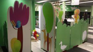 Il Bosco Incantato accoglie le famiglie dei bimbi ricoverati all'Ospedale Buzzi di Milano