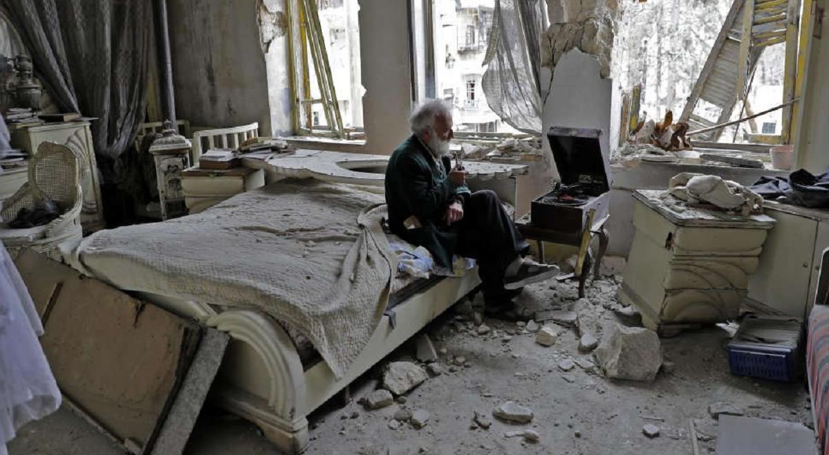Musica tra le macerie di Aleppo