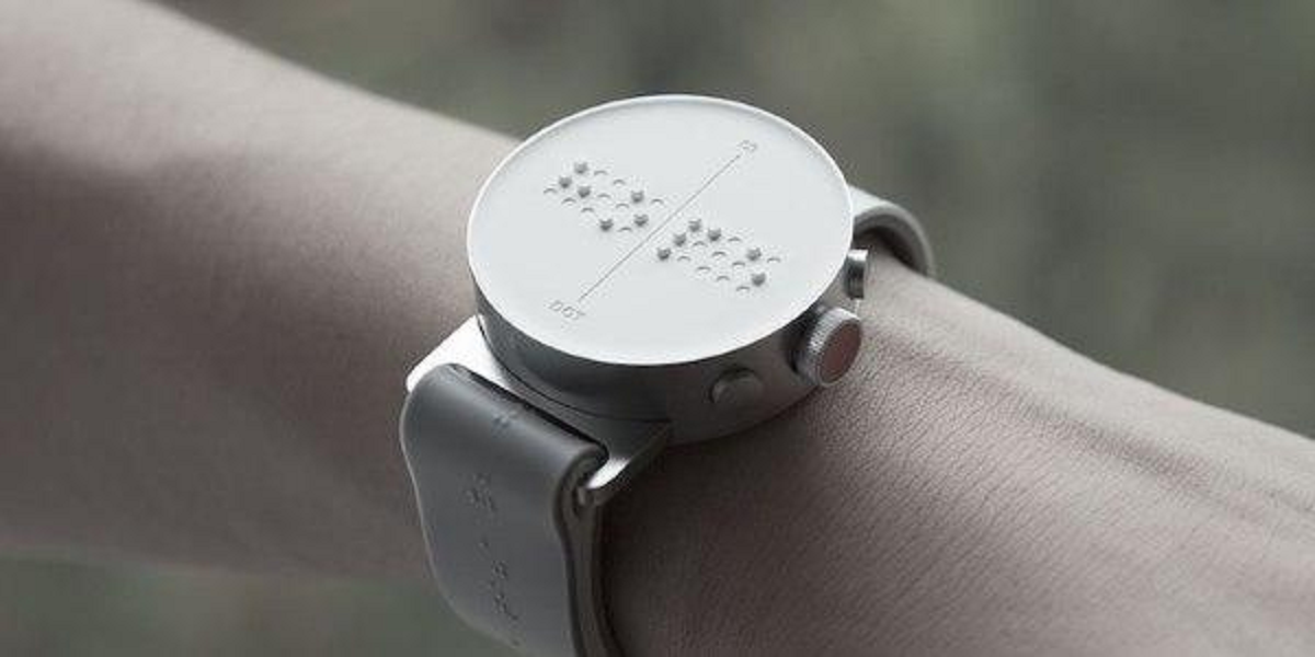 Smartwatch braille