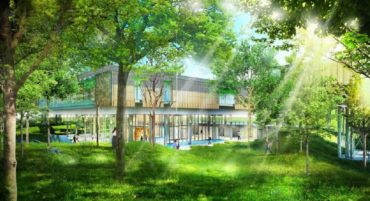 L 39 hospice pediatrico di renzo piano una casa sull 39 albero - Progetto casa sull albero per bambini ...