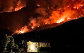incendio-monte-morrone-Sulmona