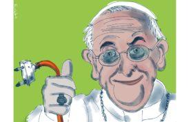 freccia papa testamento biologico
