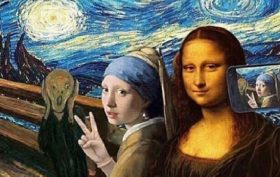 selfie musei
