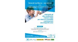 Interventi ad alto rendimento e basso costo per ridurre la mortalità e promuovere una longevità sana @ Centro Abaton  | Pescara | Abruzzo | Italia