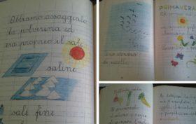 quaderni di scuola